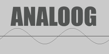 ANALOOG two way radio logo