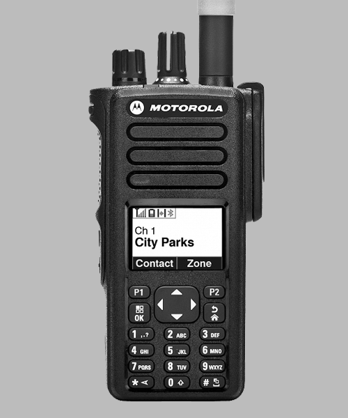 Motorola DP4800 two way radio