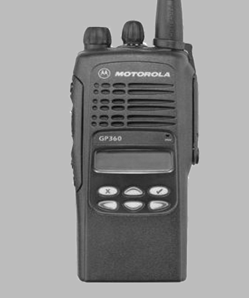 Motorola GP360 two way radio