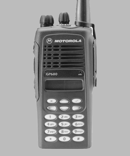 Motorola GP680 two way radio