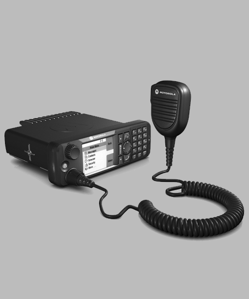 Motorola MTM5400 TETRA mobile radio