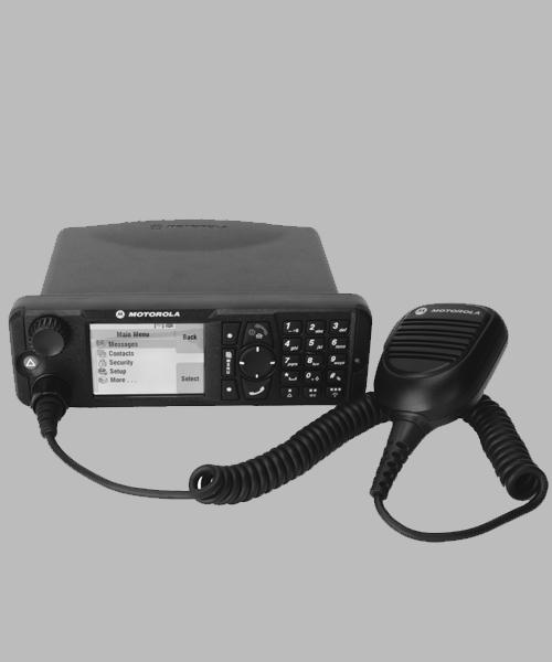 Motorola MTM800 TETRA mobile radio