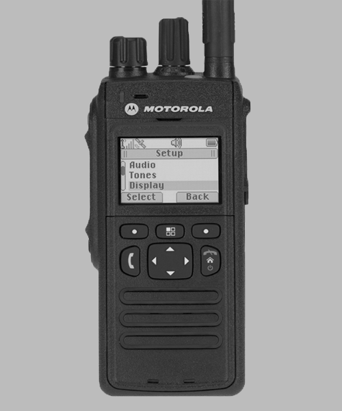 Motorola MTP3200 TETRA two way radio